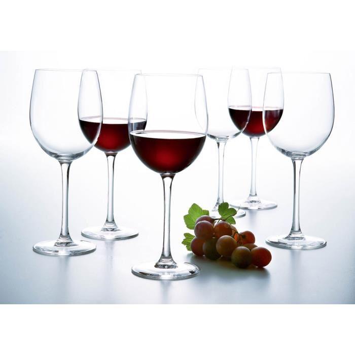 Набор бокалов для вина Luminarc VERSAILLES 6X275 мл.