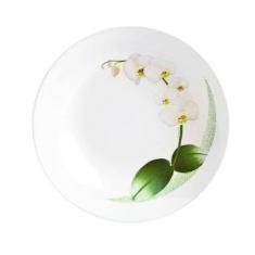 Тарелка суповая Luminarc WHITE ORCHID 200 мм.