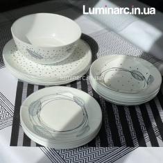 Сервиз столовый Luminarc Sketch 19 предметов P0324