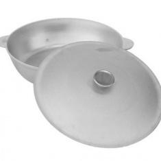 Алюминиевая сковорода с крышкой и ручками 36 см (А363)