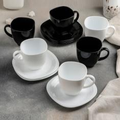 Сервиз Luminarc CARINE white&black12 предметов