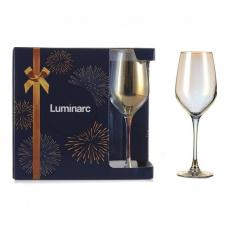 Набор бокалов для вина Luminarc CELESTE Золотистый хамелеон 6x350 мл.