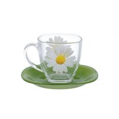 Сервиз Luminarc для чая CARINA PAQUERETTE GREEN 6x220 мл.