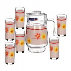 Набор для напитков Luminarc POEME PINK 7 предметов