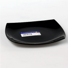 Тарелка десертная LUMINARC QUADRATO BLACK 190 мм.
