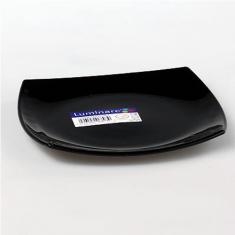 Тарелка обеденная LUMINARC QUADRATO BLACK 260 мм.