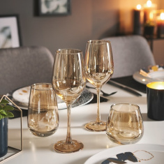 Набор бокалов для вина Luminarc Золотой мед 4х350 мл (Р9304)