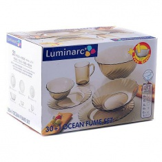 Сервиз Luminarc OCEAN ECLIPCE 30+1 предмет