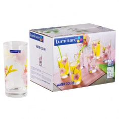 Набор стаканов Luminarc WATER COLOR 6х270 мл.