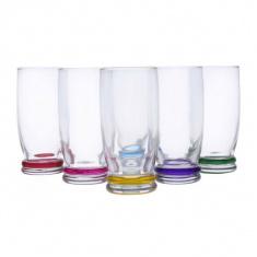 Набор высоких стаканов Luminarc CORTINA RAINBOW 6х330 мл.