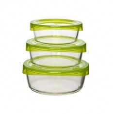 Набор круглых контейнеров Luminarc Keep