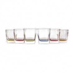 Набор низких стаканов Luminarc STERLING BRIGHT COLORS 6х300 мл.