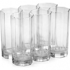 Набор стаканов высоких LUMINARC OCTIME 6x330 мл.