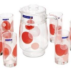 Набор для напитков Luminarc CONSTELLATION RED 7 предметов.