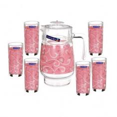 Набор для напитков Luminarc PLENITUDE RED 7 предметов
