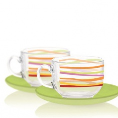 Сервиз для чая Luminarc RUBANS 6x220 мл.
