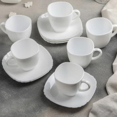 Чайный сервиз Luminarc Lotusia 12 предметов (H1789)