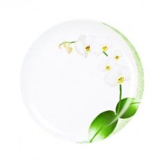 Тарелка  десертная Luminarc WHITE ORCHID 190 мм.