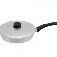 Сковорода с бакелитовой ручкой Биол и рифленым дном 22 см(А221)