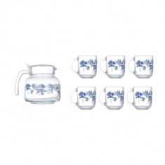 Набор для чая Luminarc ALTESE BLUE 7 предметов
