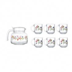 Набор для чая Luminarc ROZANA TREFLE 7 предметов