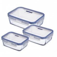 Набор прямоугольных контейнеров Luminarc PURE BOX ACTIVE 3 предмета