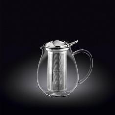 Заварочный чайник с металлическим фильтром Wilmax Thermo 600мл WL-888801