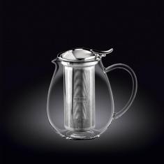Заварочный чайник с металлическим фильтром Wilmax Thermo 1300мл WL-888803