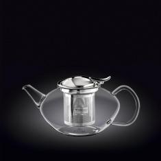 Заварочный чайник с металлическим фильтром Wilmax Thermo 650мл WL-888804