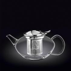 Заварочный чайник с металлическим фильтром Wilmax Thermo 1100мл WL-888805