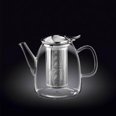 Заварочный чайник с металлическим фильтром Wilmax Thermo 1000мл WL-888808