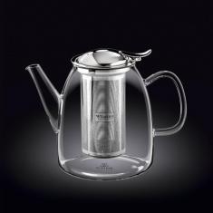 Заварочный чайник с металлическим фильтром Wilmax Thermo 1500мл WL-888809