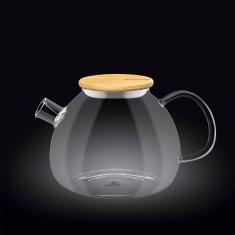 Заварочный чайник с бамбуковой крышкой Wilmax Thermo 1500мл WL-888825 / A
