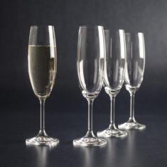 Набор бокалов для шампанского Bohemia Lara 220 мл х 6 шт (40415/220)