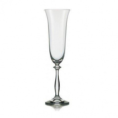 Набор бокалов для шампанского Bohemia Angela 190 мл х 6 шт (40600/190)