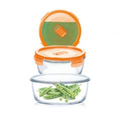 Набор круглых контейнеров Luminarc  PURE BOX ACTIVE NEON 3 предмета