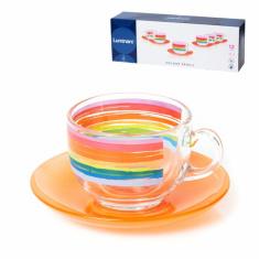 Чайный сервиз Luminarc Evolution Color Pencil, 12 предметов (N5533)