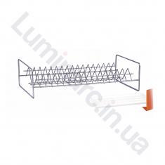 Сушилка для посуды с поддоном 400мм Хром 1 ярус СП14112