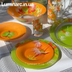 Сервиз Luminarc POP FLOWER 46 предметов.
