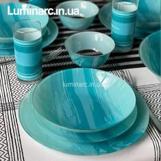 Сервиз LUMINARC SIMPLY Seascape 46 предметов. (Q3723)