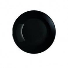 Тарелка суповая Luminarc DIWALI BLACK 205 мм.