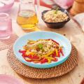 Блюдо LUMINARC FRIENDS TIME TURQUOISE 21 см. (P6360)