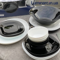 Сервиз LUMINARC CARINE BLACK&WHITE 38 предметов (P4676)